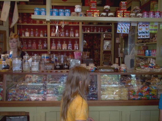 de snoepwinkel van vroeger