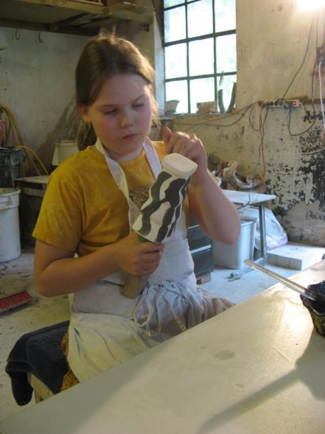 glazuren bij de pottenbakker