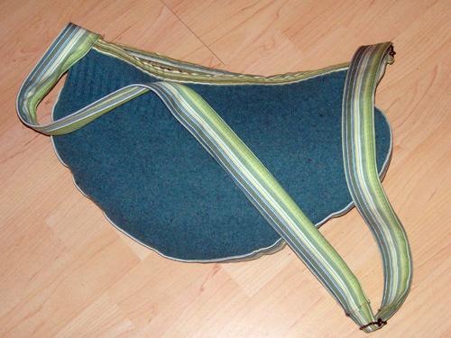 zelfgemaakte tas